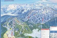 White Pass Piste Map