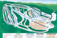 Christie Mountain Plan des pistes