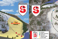Little Switzerland Mapa tras