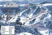 Mount La Crosse Plan des pistes