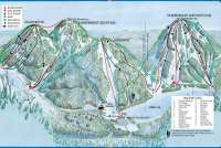 Whitecap Mountain Plan des pistes