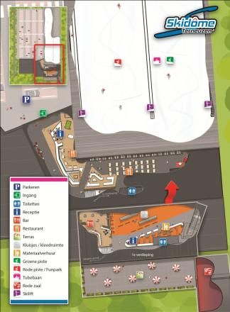 Skidome Terneuzen Trail Map