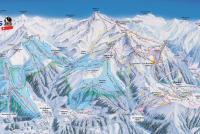 La Tzoumaz - Savoleyres Trail Map