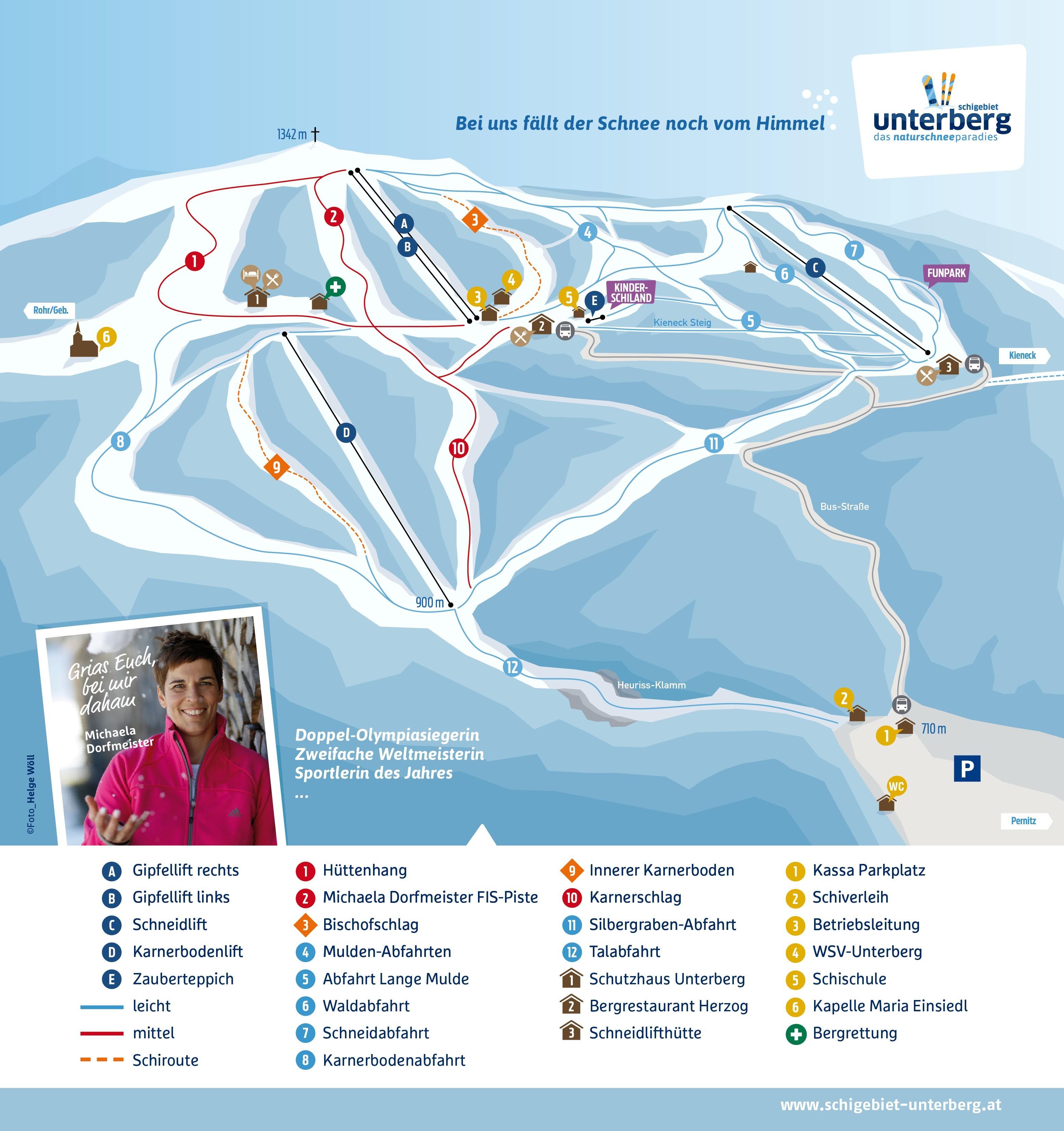 Unterberg Pernitz Trail Map Onthesnow
