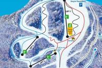 Bad Sachsa - Ravensberg Piste Map