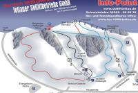 Skilift Tettau Trail Map