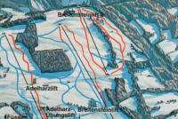 Adelharz - Breitenstein Lifte Trail Map