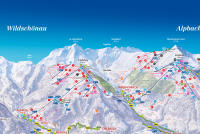 Reith i. A. - Ski Juwel Alpbachtal - Wildschönau Trail Map