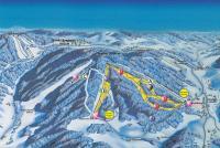 Pröller Skidreieck Plan des pistes