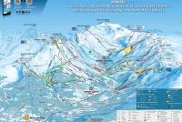 Brides les Bains Trail Map