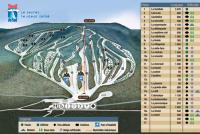Massif du Sud Plan des pistes
