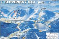 Mlynky - Biele Vody Trail Map