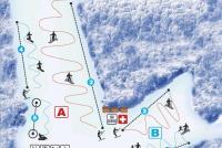 Ski Park Chlmec Mapa tras