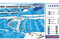 Skicentrum Kľačno Mappa piste