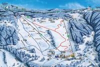 Kořenov - Rejdice Plan des pistes