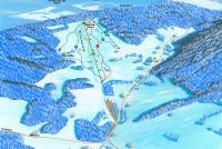 Luisino údolí - Dolní Dvůr Trail Map