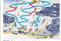 Istebna - Złoty Groń Trail Map