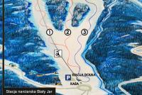 Karpacz - Biały Jar Trail Map