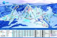 Zieleniec Ski Arena Mapa tras