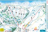Sasquatch Mountain Resort Mapa zjazdoviek