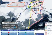 Campocatino Mapa sjezdovek
