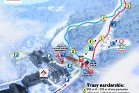 Wisła Stok Trail Map