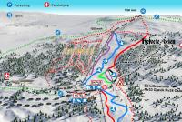 Spåtind Skisenter  Piste Map