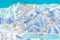 Zell am See - Kaprun Piste Map