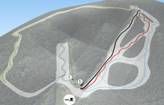 Ski Alpinum Schulenberg Pistkarta