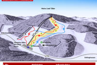 Skigebiet Hohe Lied Trail Map