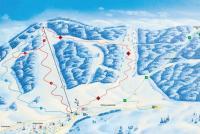 Altglashütten - Skilift Schwarzenbach Mappa piste