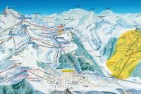 Bruson et Val de Bagnes Mappa piste