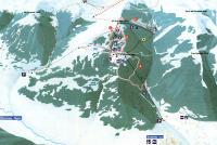 Scanno - Monte Rotondo Løypekart