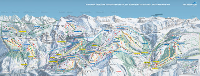 Adelboden Trail Map