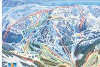 Eaglecrest Ski Area Plan des pistes