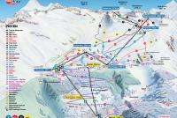 Belalp - Blatten - Naters Piste Map