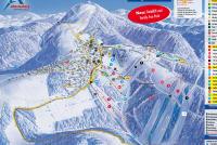 Skikarussell Altastenberg Pistekaart