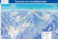Ochsenkopf Mappa piste