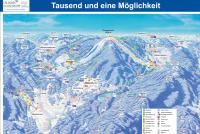 Ochsenkopf - Bischofsgrün - Fleckl MAPA DE PISTAS