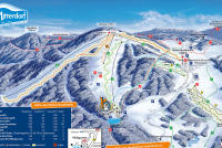Skizentrum Mitterdorf Piste Map