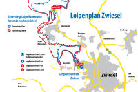Zwiesel Trail Map