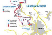 Zwiesel Mapa zjazdoviek