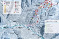 Alpe di Mera Mapa tras