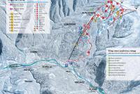 Alpe di Mera Pistenplan