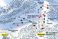 Bielmonte Mappa piste