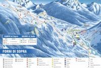 Forni di Sopra Trail Map
