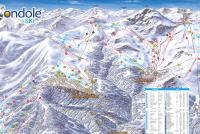 Frabosa Soprana - Mondolè Ski Trail Map