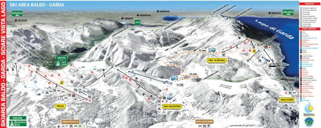 Polsa - San Valentino Trail Map