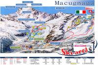 Macugnaga Mappa piste