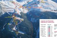 Merano 2000 / Meran 2000 Piste Map